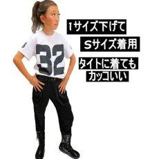 画像8: [ネコポス可] SALE ダンス衣装 ロゴtシャツ カラフル ビッグロゴ ナンバリング 半袖 赤 白 黒 女の子 男の子 ペイント ダンス ヒップホップ ストリート系 ステージ衣装 韓国ファッション キッズ ジュニア レディース メンズ (8)