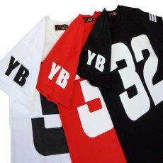 画像2: [ネコポス可] SALE ダンス衣装 ロゴtシャツ カラフル ビッグロゴ ナンバリング 半袖 赤 白 黒 女の子 男の子 ペイント ダンス ヒップホップ ストリート系 ステージ衣装 韓国ファッション キッズ ジュニア レディース メンズ (2)